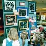 Annual exhibition of children's art at Plaza Frontenac