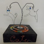 Children's art - wire sculpture