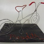 Children's art - wire sculpture (2)
