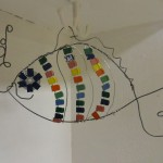Children's art - wire sculpture (3)