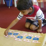 Inside the classroom - word building (2)