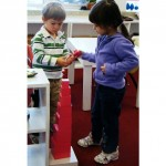 Inside the classroom - working with Montessori materials