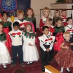 Life at school - Holiday Pageant presentation