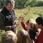 On a field trip - visiting Shaw Nature Reserve